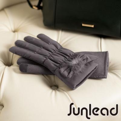 Sunlead 防滑效果。保暖防風螢幕觸控輕量感刷毛手套