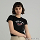 GIORDANO  女裝KEEP GOING印花T恤 - 21 標誌黑 product thumbnail 1