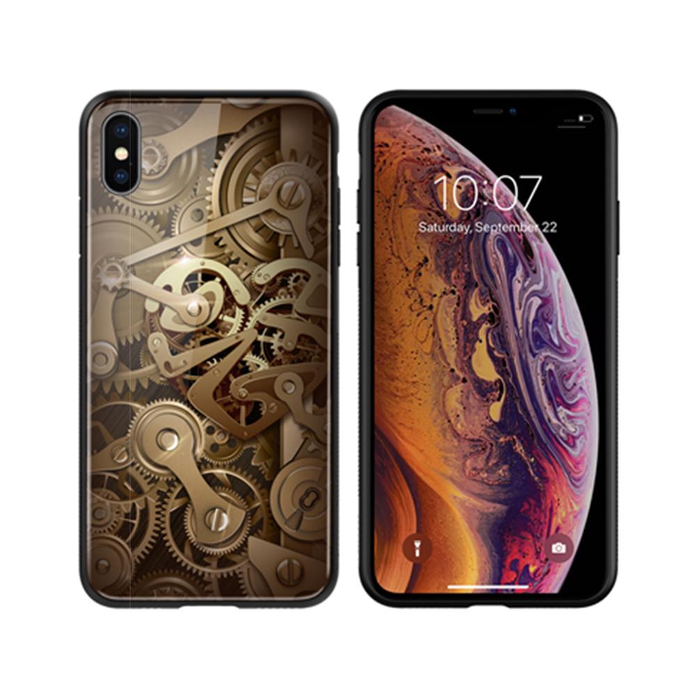 NILLKIN Apple iPhone Xs Max 金芯玻璃手機殼