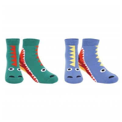 Stella McCartney 恐龍襪兩件組