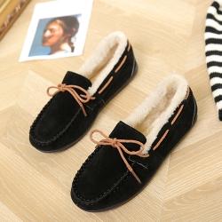 KEITH-WILL時尚鞋館 優雅氣質蝴蝶休閒鞋-黑色