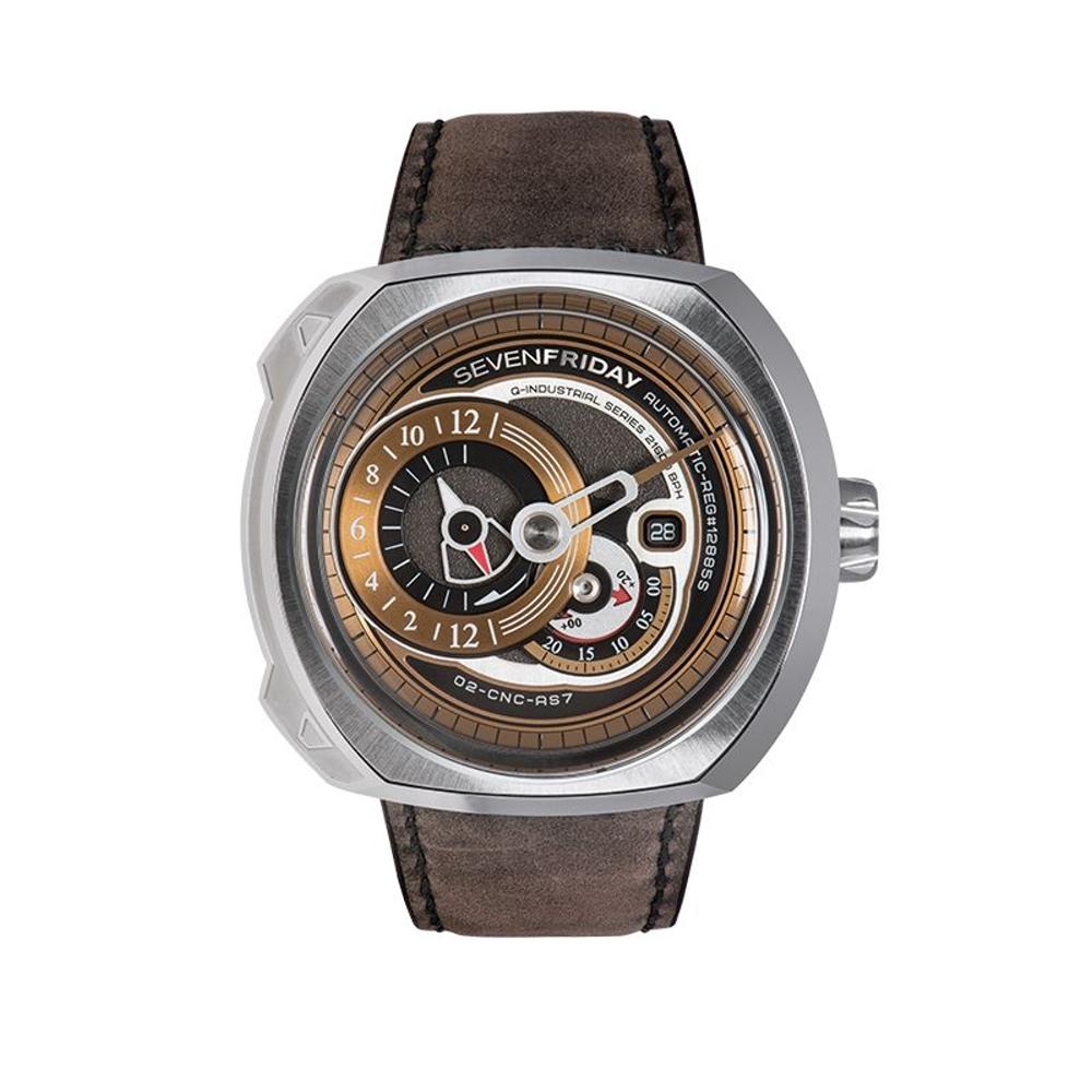 SEVENFRIDAY Q2-2 潮流新興瑞士機械腕錶