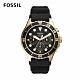 FOSSIL FB - 03 三眼計時潛水男錶 黑色矽膠錶帶 46MM FS5729 product thumbnail 1