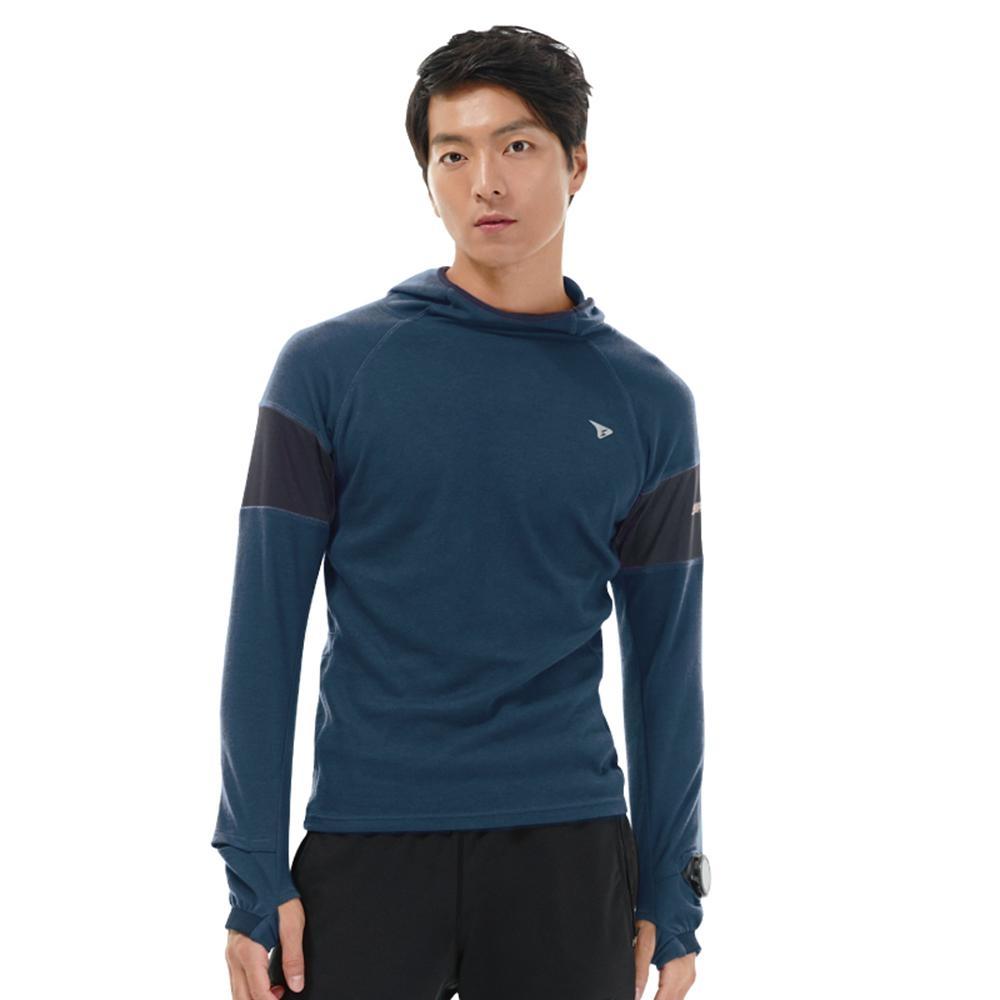 SUPERACE THOT機能棉質帽TEE / 男款 / 藍