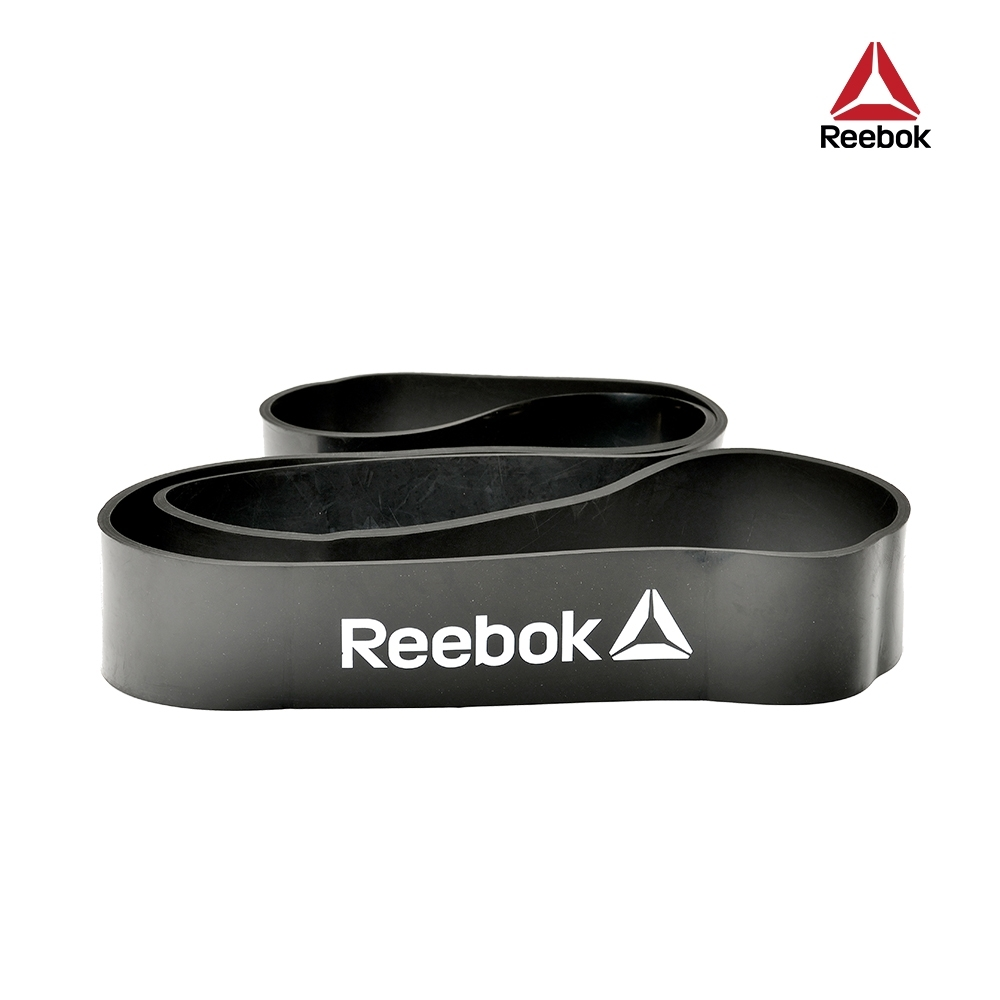 Reebok 高彈性訓練阻力帶-34kg阻力 (深灰)