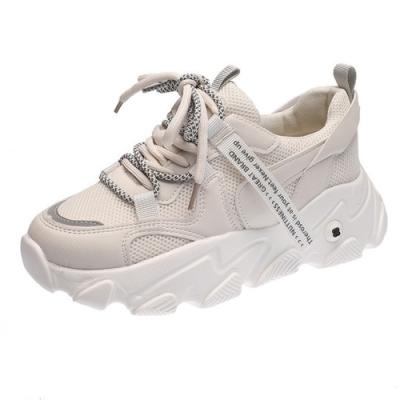 韓國KW美鞋館 簡約時尚街頭輕巧老爹鞋-灰