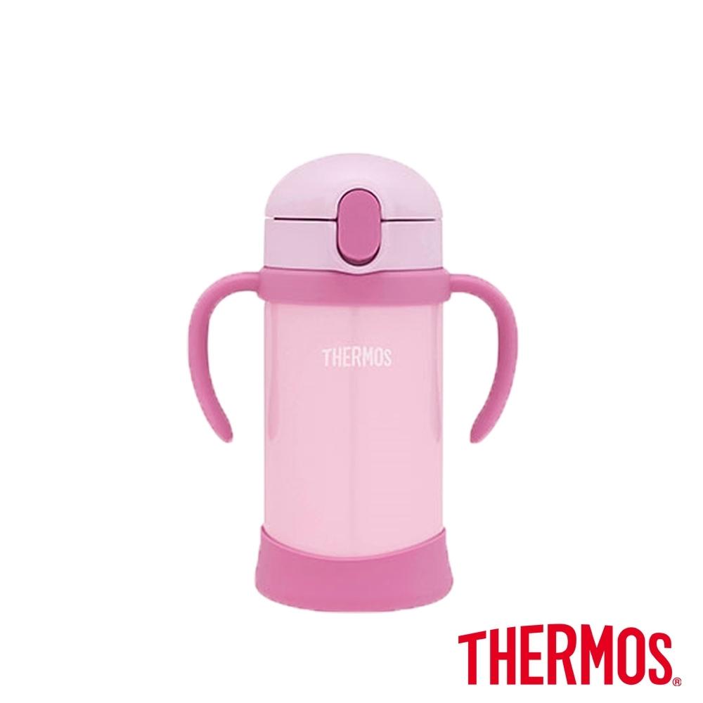 THERMOS膳魔師不鏽鋼兒童學習杯0.35L(FHV-350-P)