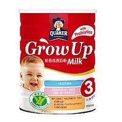 桂格 三益菌成長奶粉(825gx12罐)