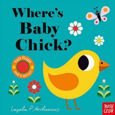Where s Baby Chick? 小雞在哪裡呢? 不織布翻翻書
