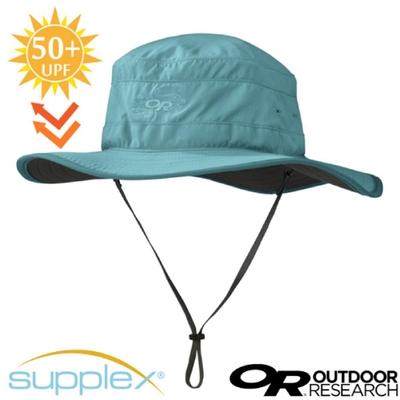 Outdoor Research Solar Roller Sun Hat 超輕防曬抗UV透氣可調可收折中盤帽子(UPF 50+).圓盤帽_海藍