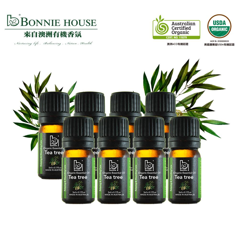 Bonnie House 雙有機認證茶樹精油回饋組