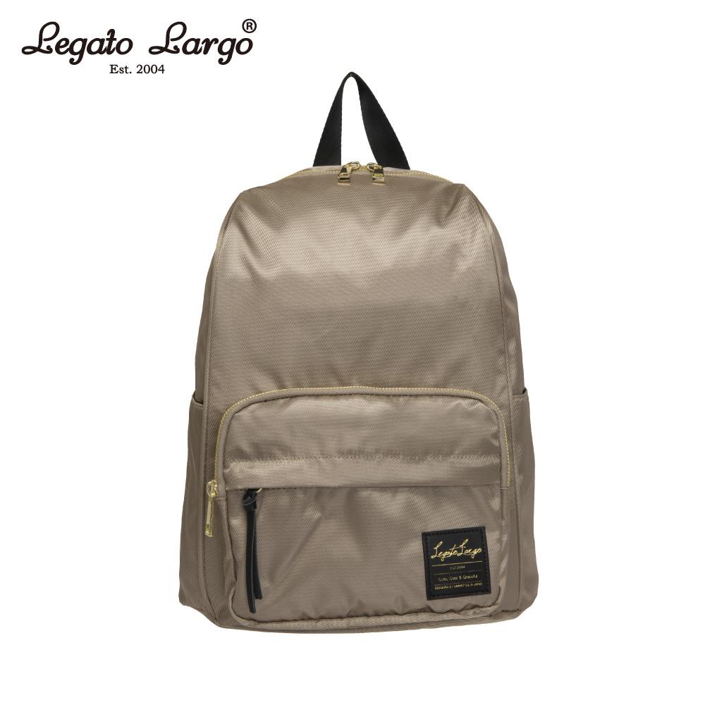 Legato Largo 防潑水簡約後背包-灰 LT-C2151GY