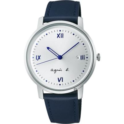 agnes b. 法式中性手錶-38mm (BG8012X1/VJ32-KZD0Z)