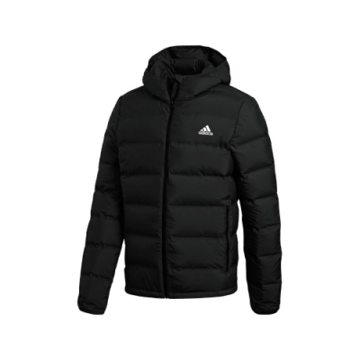 adidas 外套 Helionic Hooded Down 男款