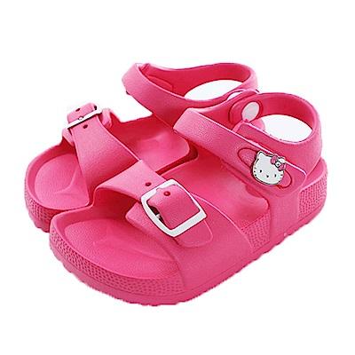 Hello Kitty超輕休閒涼鞋 桃 sk0476 魔法Baby
