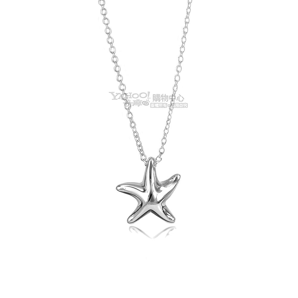 Tiffany&Co. 小海星925純銀項鍊 @ Y!購物