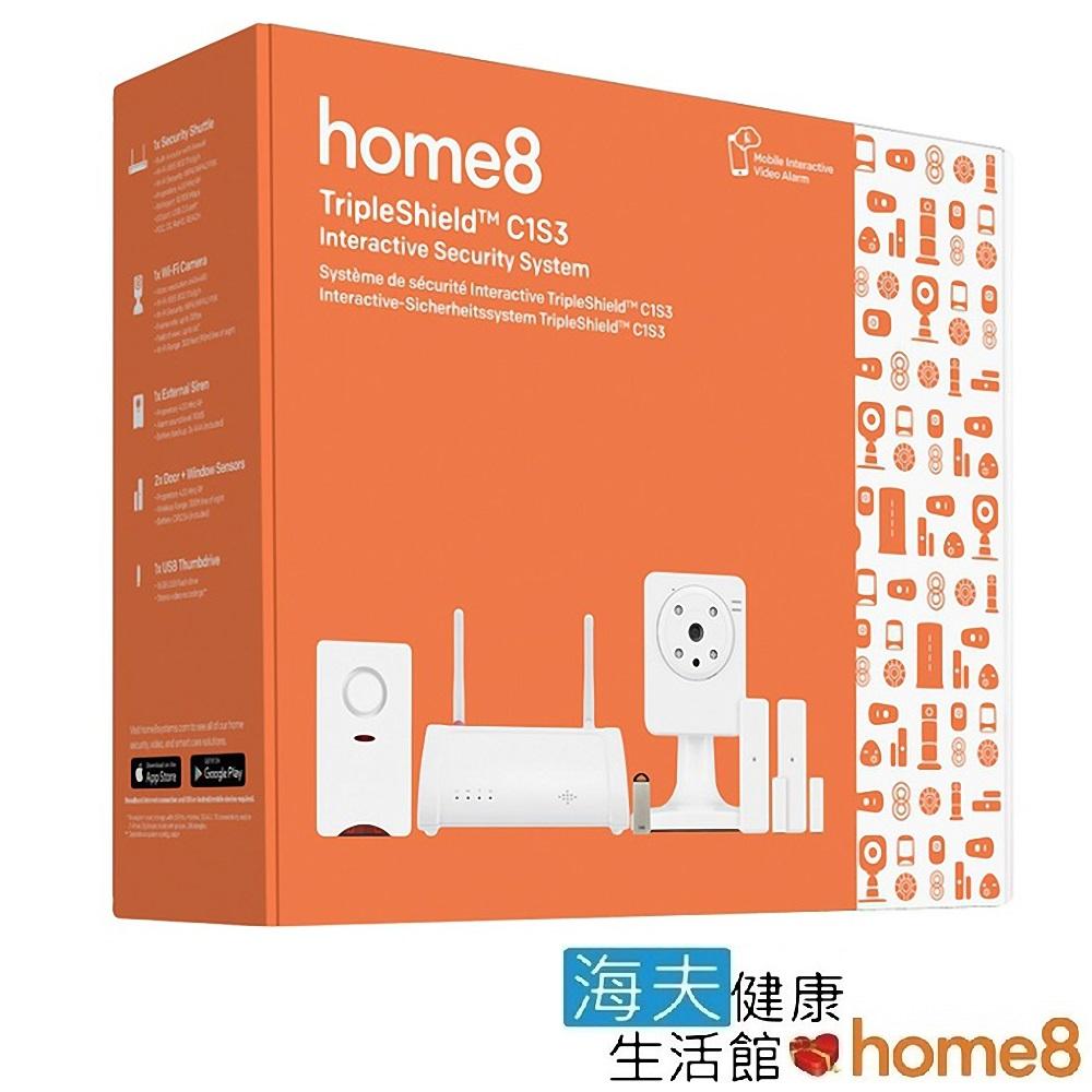 海夫建康 晴鋒 home8 智慧家庭 單鏡頭影像防盜組(C1S3)
