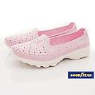 GOODYEAR-透氣洞洞機能鞋-EI2822粉(女段)