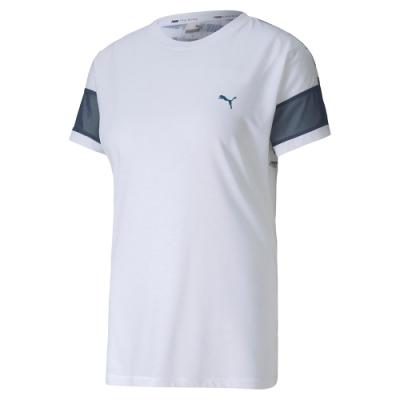 PUMA-女性訓練系列Feel It短袖T恤-白色-歐規