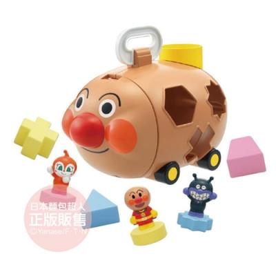 麵包超人-麵包超人號軟軟拼圖(2歲-)