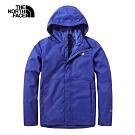 The North Face北面男款藍色防水透氣衝鋒衣|3VSCN8E