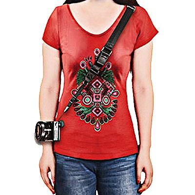 美國FOTOSPEED F9 類單相機背帶-紅色