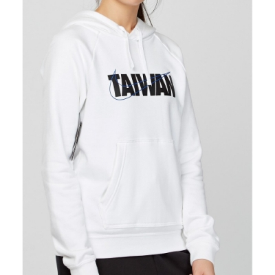 NIKE W NSW TAIWAN PO HOODIE FLC 女 連帽上衣 白-CU1623100