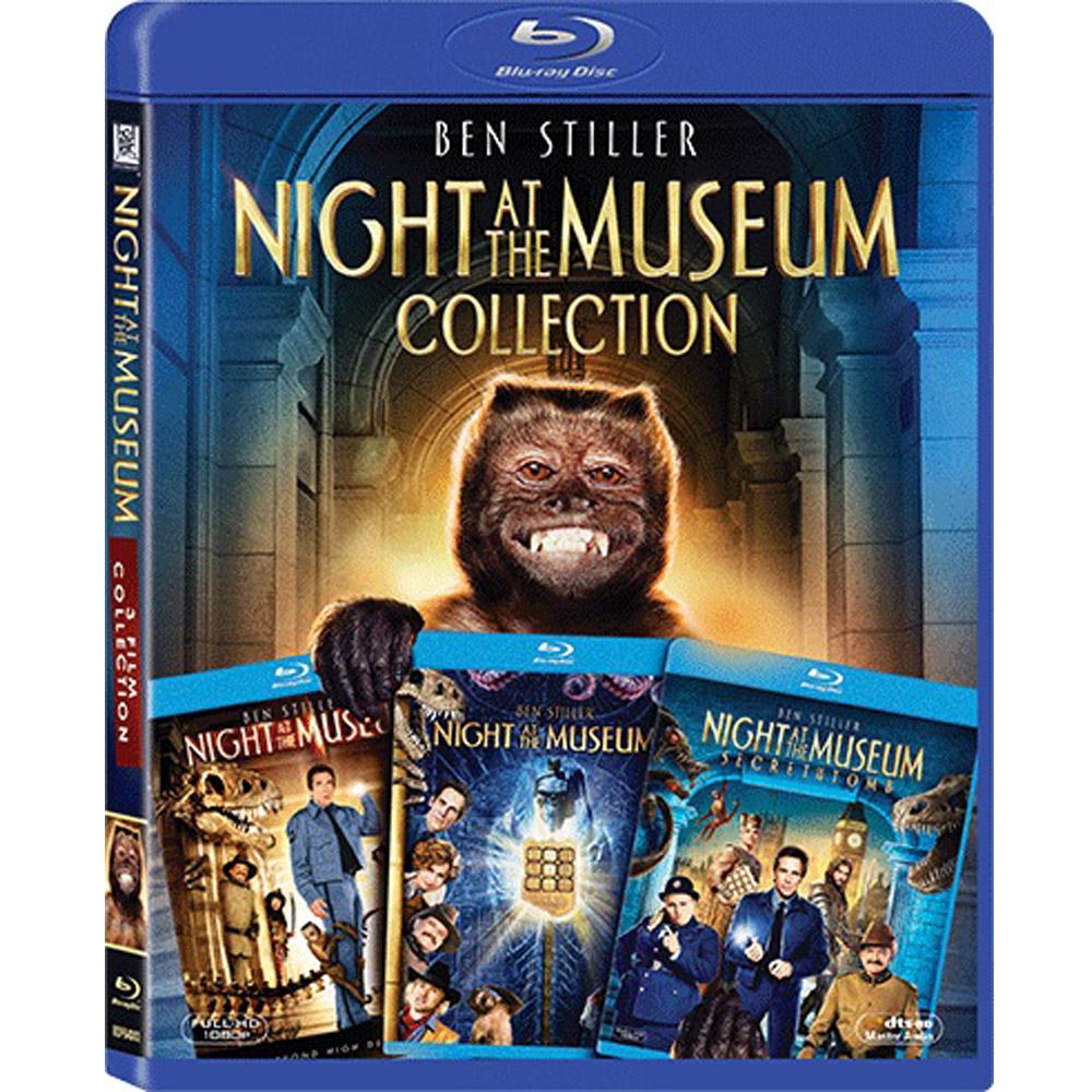 博物館驚魂夜 1~3 合集  藍光 BD