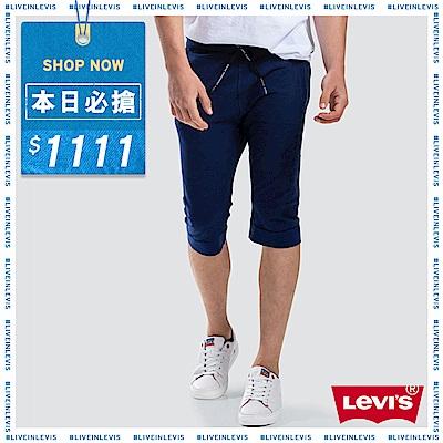 Levis 男款 針織短褲 LEJ 3D褲 機能散熱設計