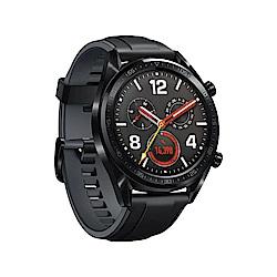 HUAWEI WATCH GT 黑色(曜石黑矽膠錶帶)智慧手錶