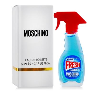 Moschino 小清新女性淡香水小香 Fresh Couture 5ml EDT-國際航空版
