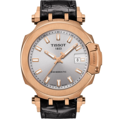 TISSOT T-RACE 天梭競速時尚機械錶(T1154073703100)