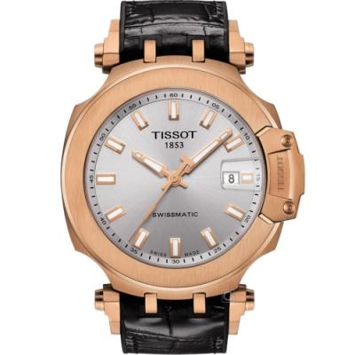TISSOT天梭T-RACE競速時尚機械錶(T1154073703100)