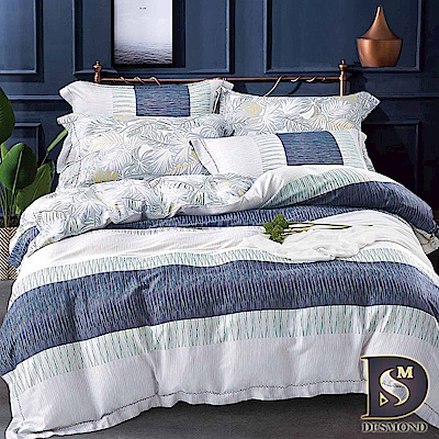DESMOND 特大100%天絲全鋪棉床包兩用被四件組/加高款冬包 嘉寶莉