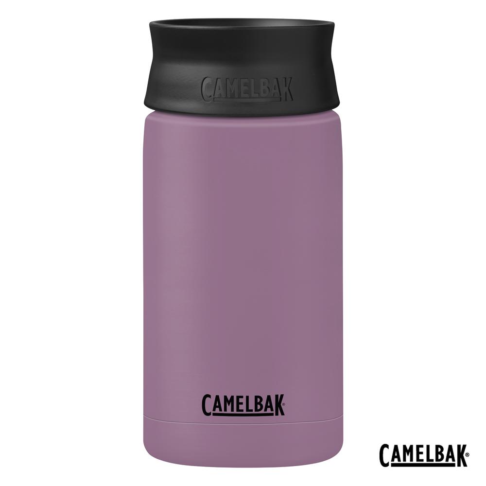 【美國 CamelBak】350ml Hot Cap 360° 保冰/溫隨行杯 灰紫