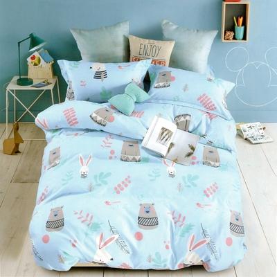 (買一送一)A-ONE 出清特賣 枕套床包組 (贈品請於備註提供尺寸花色)