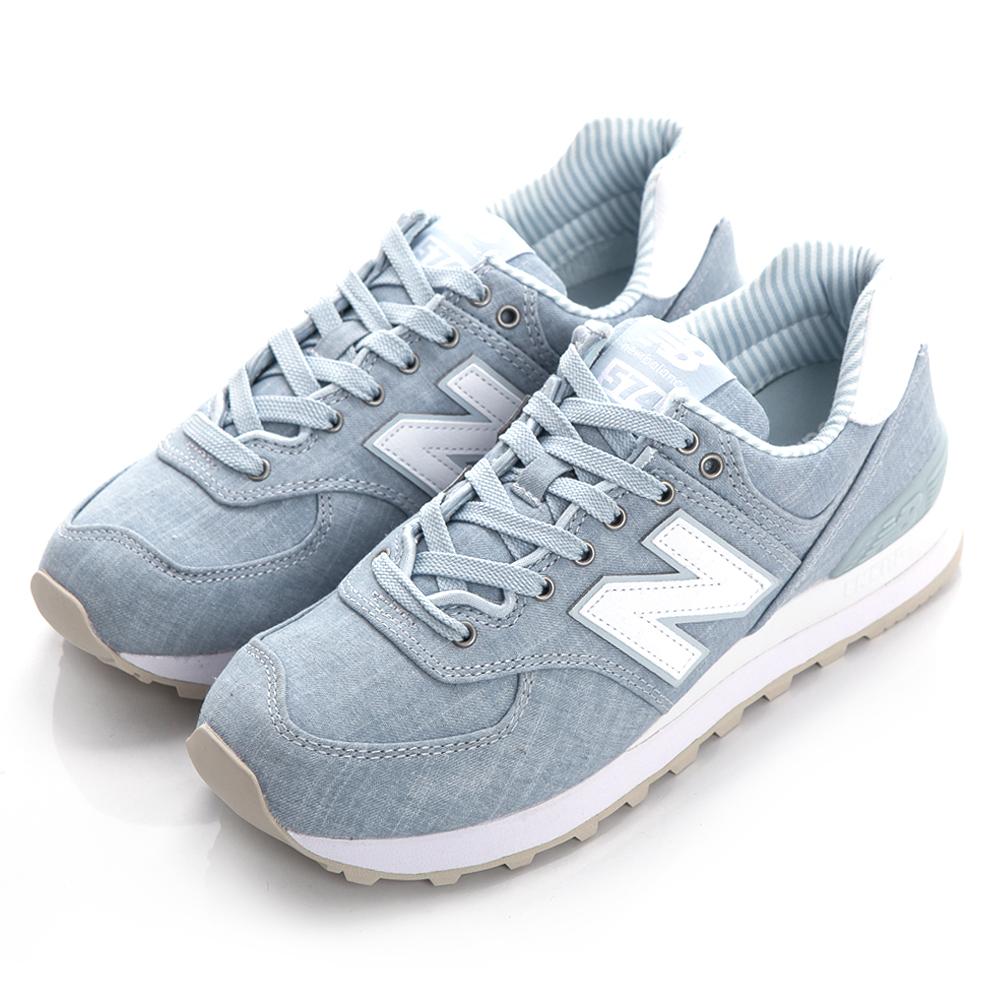New Balance TIER 3 574 女復古休閒鞋 WL574CHF-B 藍