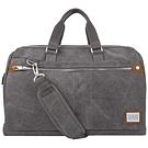 《TRAVELON》口金式防盜旅行袋+背帶(灰)