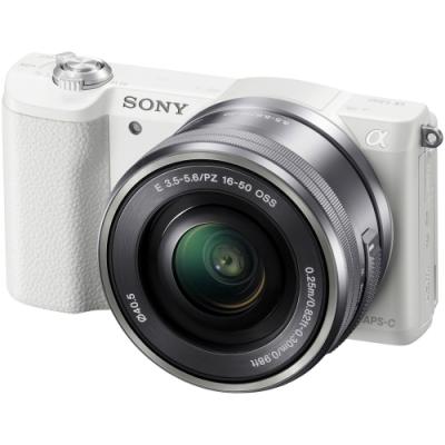 SONY A5100 16-50mm A5100L 變焦鏡組(公司貨)-白色