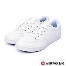 【AIRWALK】輕騎兵休閒滑板鞋-白色