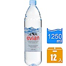 Evian依雲 天然礦泉水(1250mlx12瓶)