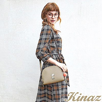 KINAZ x PEANUTS™ 日出印象兩用斜背醫生包-糖霜歐蕾-好日子系列