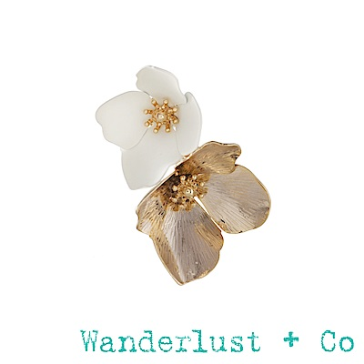 Wanderlust+Co瑪雅女神戒指 -象牙白