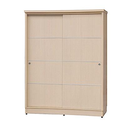 綠活居 卡伯夫6.1尺推門衣櫃/收納櫃(含穿衣鏡)-182x60x199cm-免組