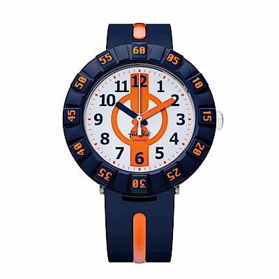 FlikFlak 兒童錶 ORANGE AHEAD 橘色動力手錶