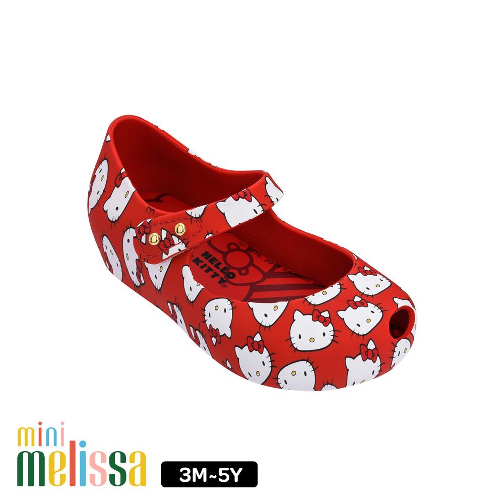 Melissa Hello Kitty國際聯名款娃娃鞋(寶寶款)-紅