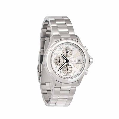 李小龍BruseLee全球限量紀念錶雙截棍腕錶白色面