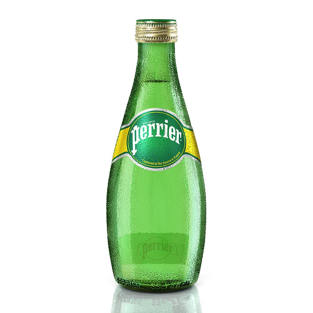 法國Perrier沛綠雅 氣泡天然礦泉水(330mlx24入/箱)