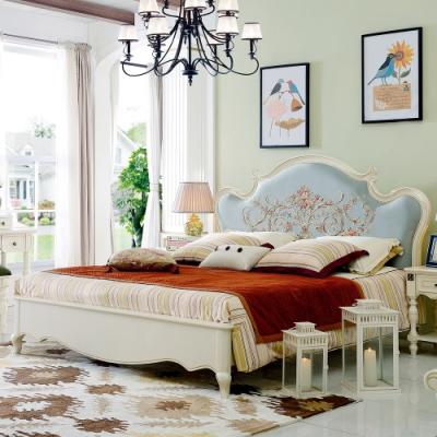 Boden-薩維恩5尺歐風雙人床組(不含床墊)