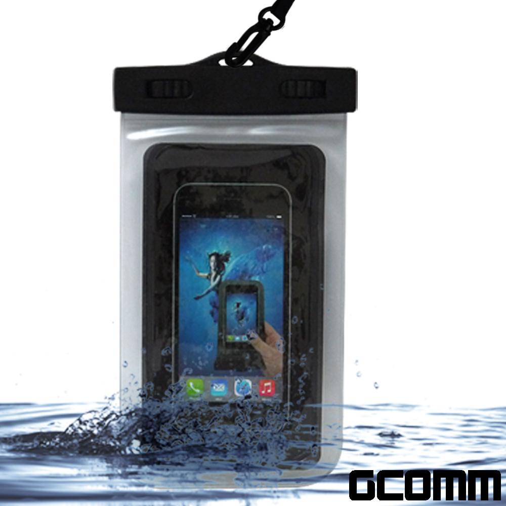 GCOMM SPORT IPX8 雙扣鎖高規格手機防水袋 5.7吋以下通用 product image 1